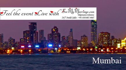 live marriage streaming mumbai