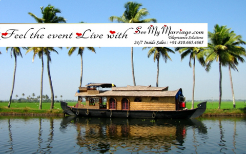 Kerala live marriage streaming